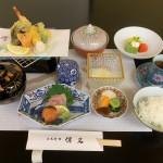 「天ぷら御膳」、2,500円、ランチのみ